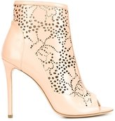 Monique Lhuillier 'Serena' booties - women - Leather/Nappa Leather - 39