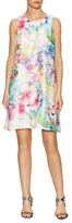 Donna Ricco Flower Printed Lace Dress