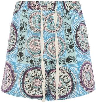 J.W.Anderson Mystic Paisley print deck shorts