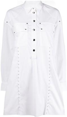Diesel studded shirt dress