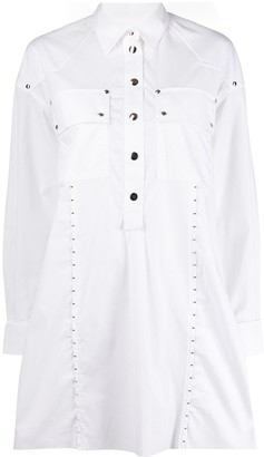 Diesel Studded Shirt Dress