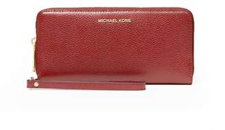 Michael Kors Continental Dark Red Wallet