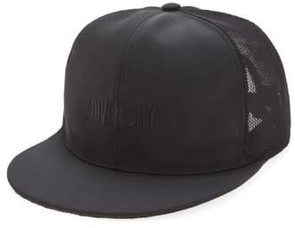 Givenchy Stars Mesh & Canvas Baseball Cap