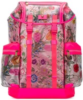 Gucci Flora Printed Backpack