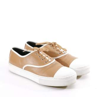 Celine Brown Leather Trainers