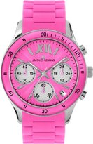 Jacques Lemans Women's 1-1587I Rome Sports Sport Analog Chronograph with Silicone Strap Watch