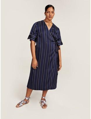 Tommy Hilfiger Curve Nautical Striped Dress