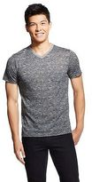 Men's Space Dye Pocket V-Neck T-Shirt - BKC