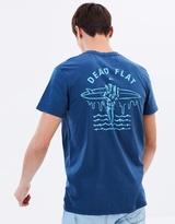 Quiksilver Mens Garment Dye Dead Flat T Shirt
