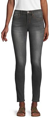 Karl Lagerfeld Paris Mid-Rise Ankle Skinny Jeans