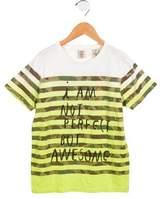 Scotch Shrunk Boys' I Am Not Perfect Dip-Dyed Shirt