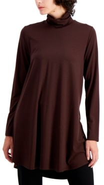 Eileen Fisher Scrunched Turtleneck Sweater