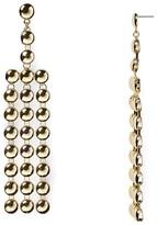 Aqua Caroline Chandelier Earrings