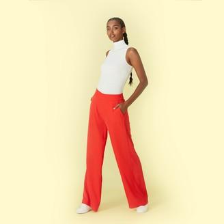 Summersalt The Perfect Wide Leg Pant - Lava