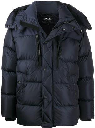 Ralph Lauren Rlx Hooded Puffer Coat