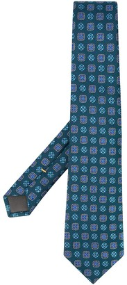 Canali Embroidered Suit Tie