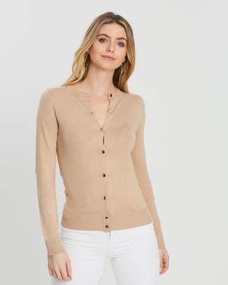 Dorothy Perkins Gold Button Cardigan