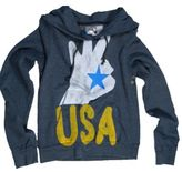 Rebel Yell OK USA Pullover Hoodie in Concrete