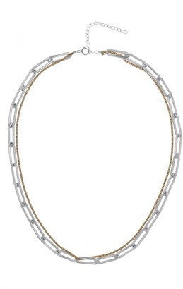 Kozakh Riley Stacked Chain Necklace