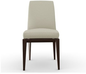 Calligaris Bess Low Upholstered Side Chair Leg Color: Smoke, Upholstery Color: Sand