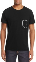7 For All Mankind Painted Pocket Graphic Tee