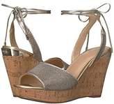 GUESS Women's Edinna Wedge Sandal,6 M US