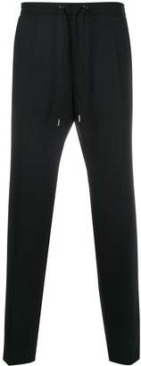 BOSS slim-fit knitted trousers