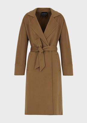 Emporio Armani Pure Cashmere Robe Coat
