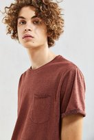 Urban Outfitters Plaited Nubby Roll Sleeve Tee