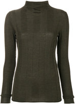 Joseph panelled turtle neck sweater - women - Merino - S