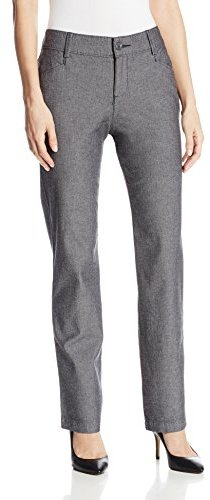 Lee Women's Relaxed Fit Plain Front Pant