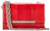 Badgley Mischka Justine Watersnake Shoulder Bag Shoulder Handbags
