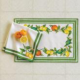 Gump's Citrus Grove Table Linens