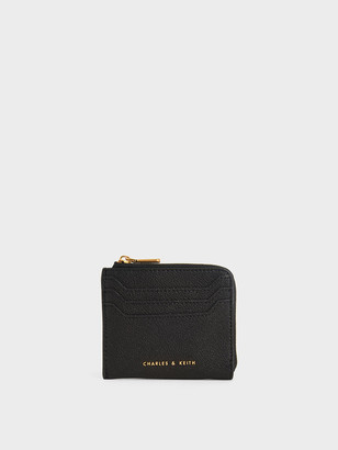 Charles & Keith Multi-Slot Mini Pouch