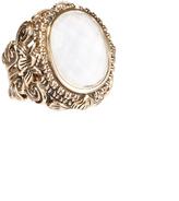 Barse Bronze Rock Ring