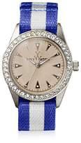 Toy Watch Women's Quartz and Fabric/Steel Watch