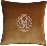 Legacy Liberty Velvet Pillow, Monogrammed