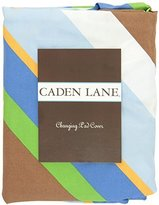 Caden Lane Boutique Collection Diagonal Stripe Changing Pad Cover, Blue by