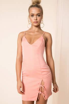 by the way. Tenley Tie Mini Dress