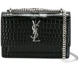 Saint Laurent 'Sunset Monogram' chain wallet