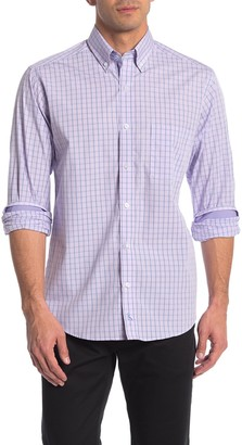 Tailorbyrd Square Print Regular Fit Shirt