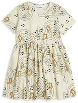 Mini Rodini Baby's, Toddler's, Little Girl's & Girl's Musical Notes Dress