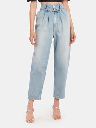 IRO Joppo Pleated High Rise Jeans