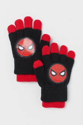 H&M Gloves/Fingerless Gloves - Red