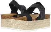 Steve Madden Circa Wedge Sandal (Black Multi) Women's Shoes