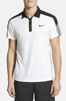 Nike Men's 'Team Court' Dri-Fit Tennis Polo