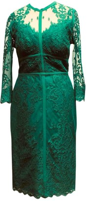 Elie Saab Green Lace Dress for Women