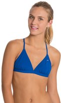 Speedo Solid Tie Back Swimsuit Top 8114588
