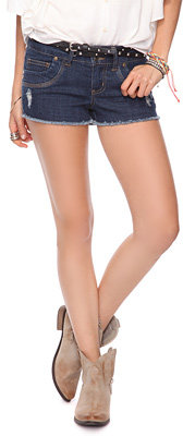 Forever 21 Studded Cut-Off Shorts