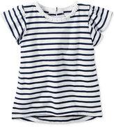 Carter's Flutter-Sleeve Stripe Shirt, Little Girls (2-6X)